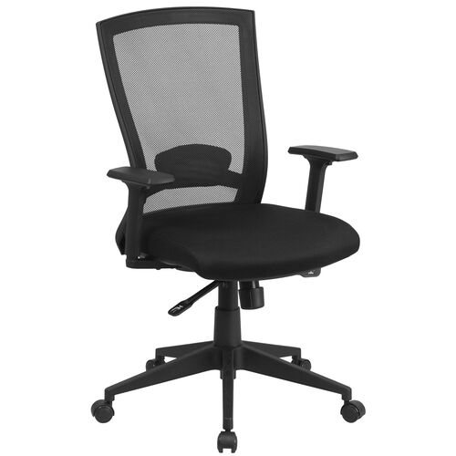 Our Mid-Back Black Mesh Executive Swivel Ergonomic Office Chair with Back Angle Adjustment and Adjustable Arms is on sale now.