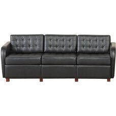 Quick Ship Himalaya Sofa with Wood Legs