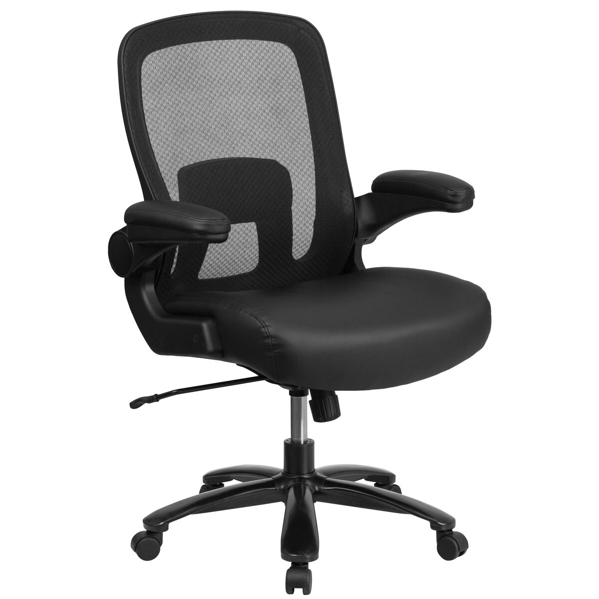 Our Hercules Series Tall 500 Lb Rated Black Mesh Executive Swivel Chair With