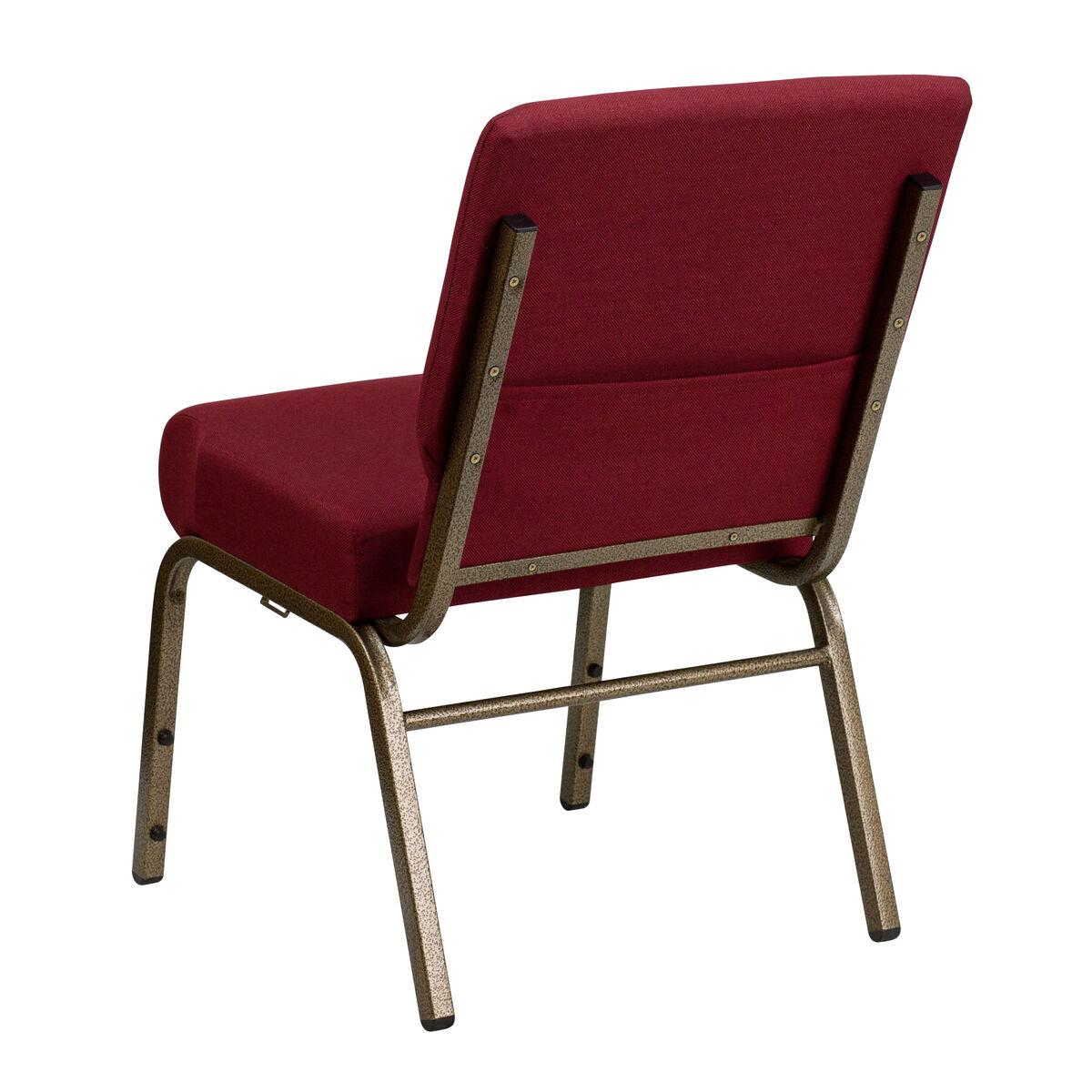 Flash Furniture Hercules Series 21 W Stacking Church