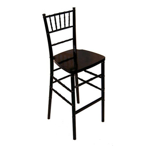 Our Legacy Series Stacking Wood Gloss Finish Chiavari Bar Stool - Black is on sale now.