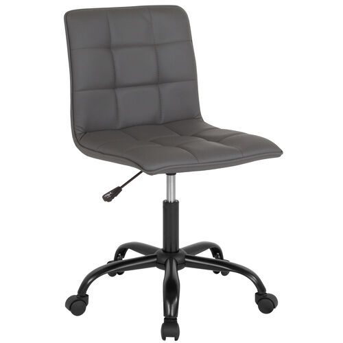 Our Sorrento Home and Office Task Chair in Gray LeatherSoft is on sale now.