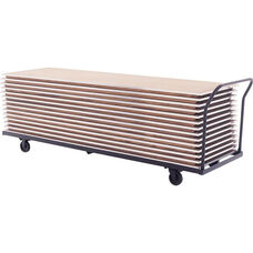 Heavy Duty Flat Storage Table Truck for Tables Up to 96