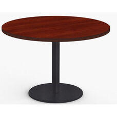 StarX 1 Day Quick Ship 42'' Diameter Round Breakroom Table with Cast Iron X-Base