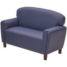 Just Like Home Enviro-Child School Age Sofa - Deep Blue - 45