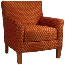 6055 Upholstered Lounge Chair w/ Loose Cushion - Grade 1