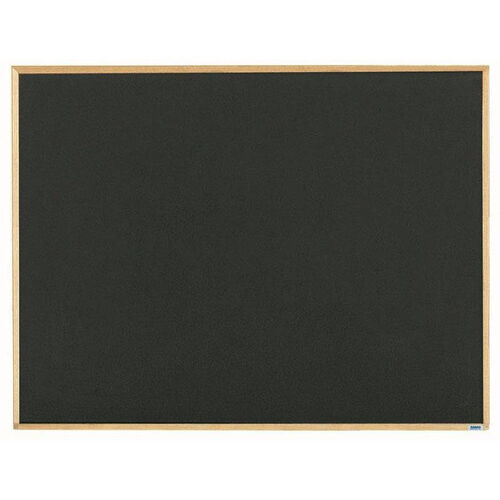 Our Economy Series Black Composition Chalkboard with Wood Frame - 36
