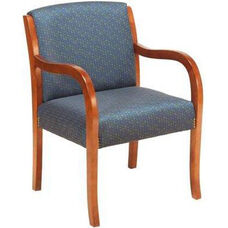 1281 Lounge Chair w/ Upholstered Back & Web Seat - Grade 1