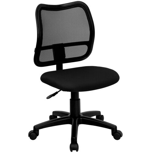 Our Mid-Back Mesh Swivel Task Chair is on sale now.