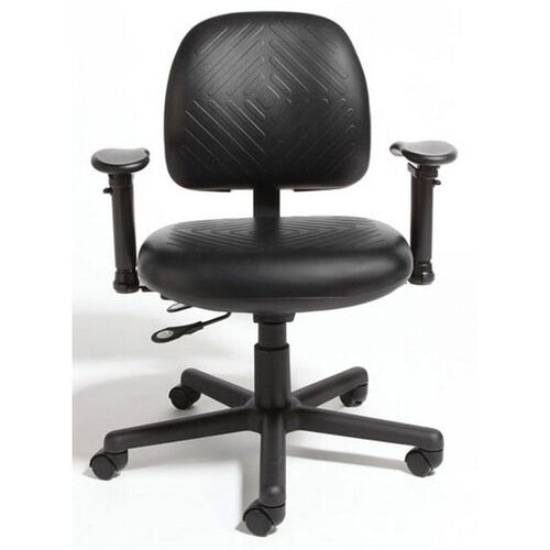 Our Triton Plus Medium Back Desk Height Cleanroom Chair with 350 lb. Capacity - 4 Way Control is on sale now.