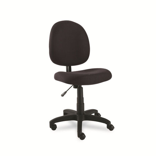 Alera® Essential Series Swivel Task Chair - Acrylic - Black
