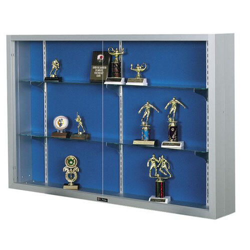 Our Imperial Series Aluminum Frame Display Case with Three 4