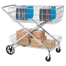 Chrome Mail Cart - 22