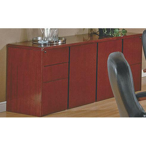 ... Our OSP Furniture Sonoma Wood 72u0027u0027 Storage Credenza   Cherry Is On Sale  Now