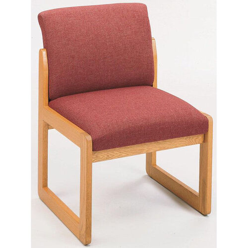 Our Classic Series Full Back Armless Guest Chair with Sled Base is on sale now.