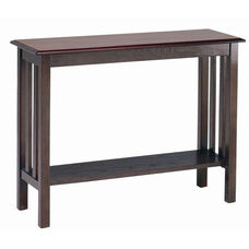 2340 Sofa Table with Shelf
