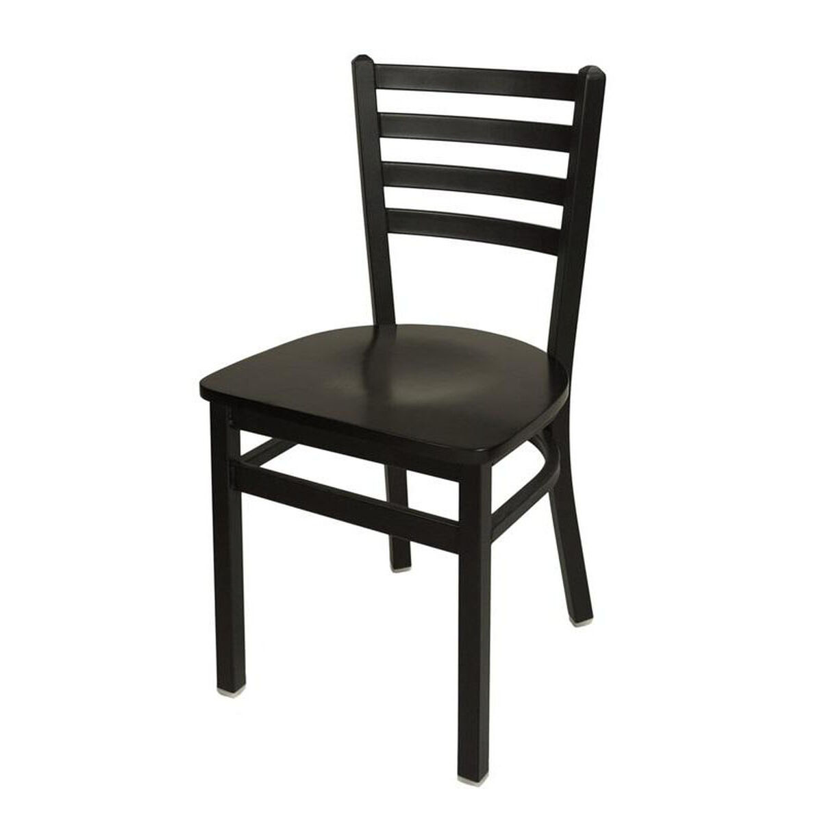 Our Lima Metal Ladder Back Chair Black Wood Seat Is On Now