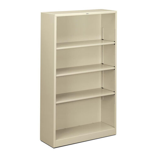 Our The HON Company Heavy Duty Metal 4 Shelf Bookcase - Putty is on sale now.