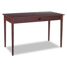 Safco® Apres Table Desk - 48w x 24d x 30h - Mahogany