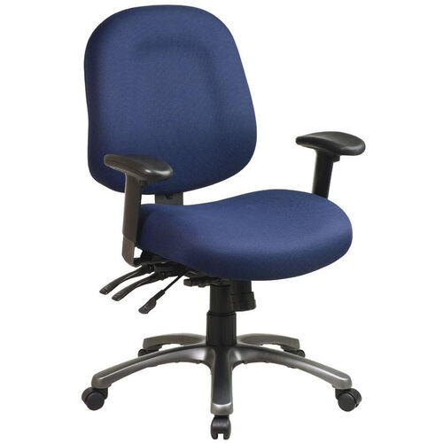 Our Pro-Line II Ergonomic Mid-Back Chair with Multi Function Control and Titanium Finish Accents is on sale now.