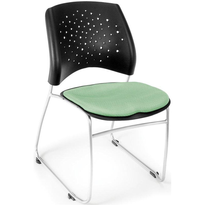 Our Stars Stack Chair   Sage Green Seat Cushion Is On Sale Now.