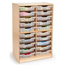 Parent Teacher Communication Center with 20 Clear Gratnell Trays