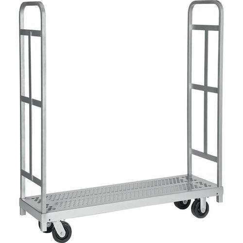 Our Narrow Tall End Steel Frame Truck with 4 Swivel Casters - 16