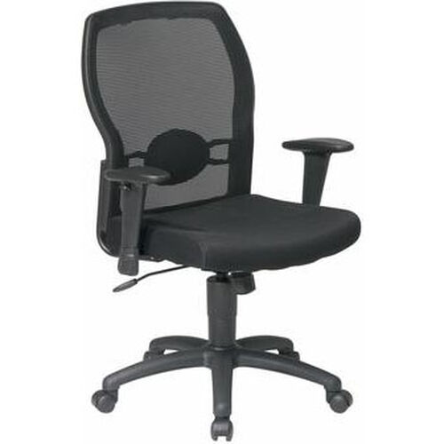 Our Work Smart Woven Mesh Back Office Chair with Mesh Seat - Black is on sale now.