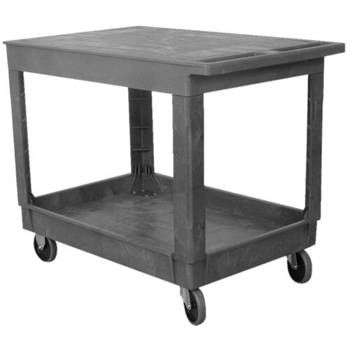 Our Flat Top Plastic Service Cart - 25.5