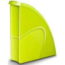 CepPro Gloss Magazine Rack - Set of 2 - Lime Green