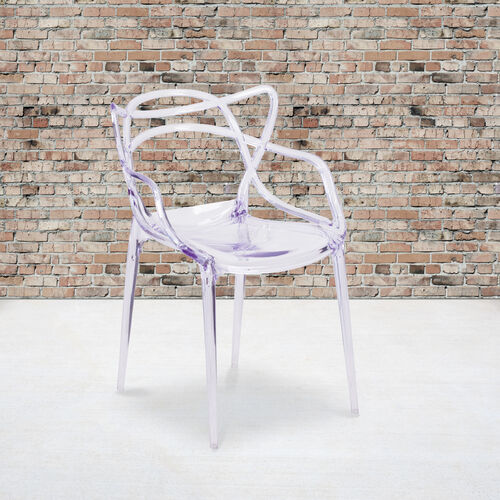 Nesting Series Transparent Stacking Side Chair