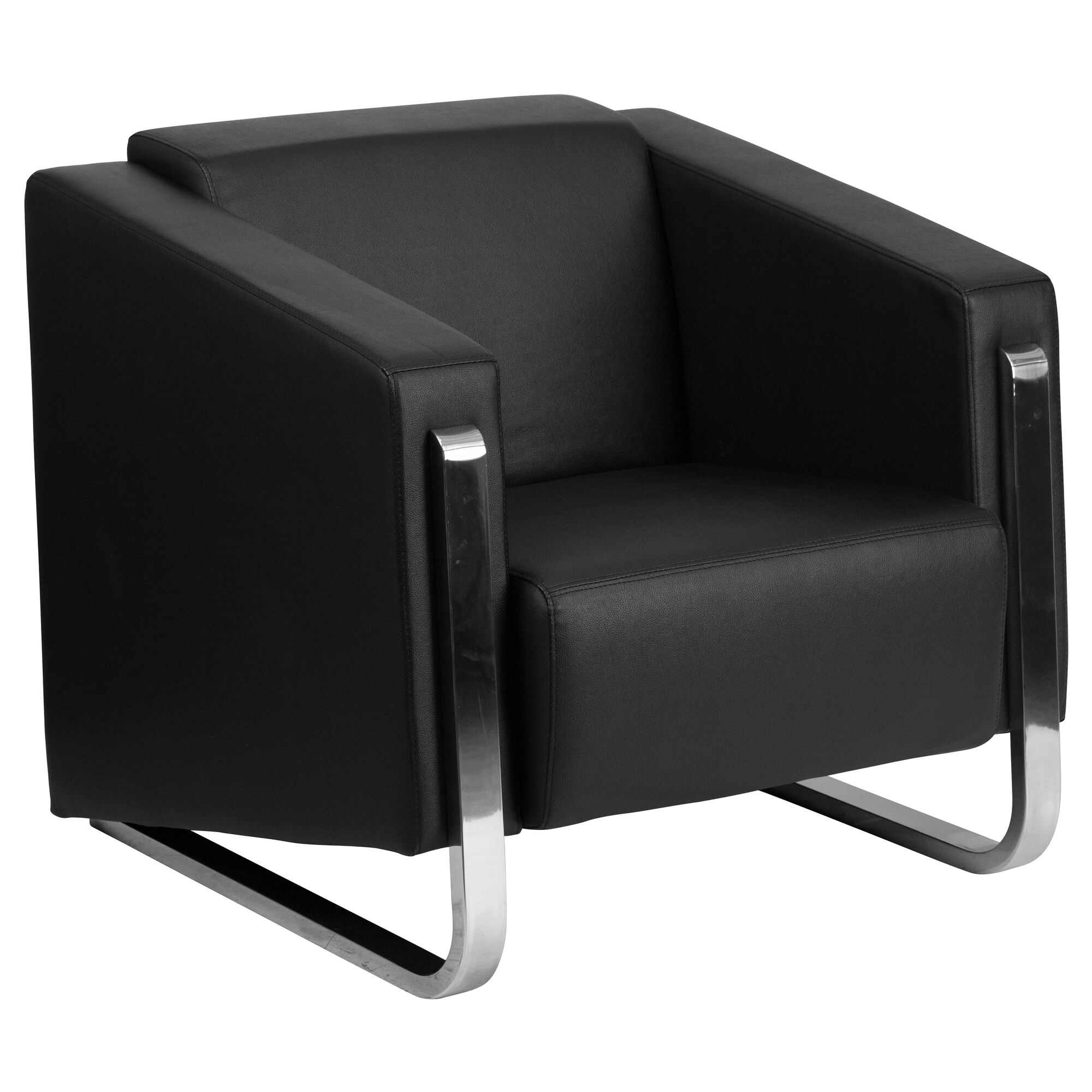 chair chairs shop hand lounge leather off black second