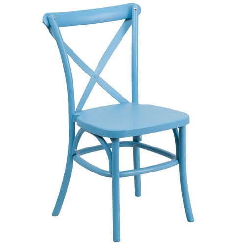 Our HERCULES Series Resin Indoor-Outdoor Cross Back Chair with Steel Inner Leg is on sale now.