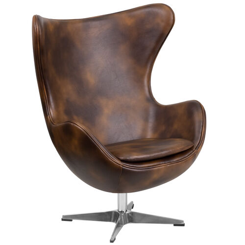 Our Bomber Jacket LeatherSoft Egg Chair with Tilt-Lock Mechanism is on sale now.