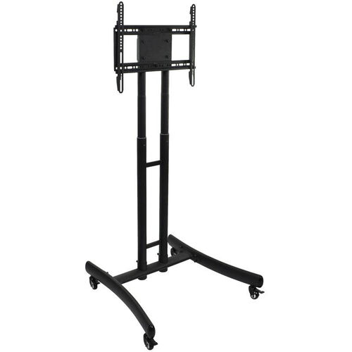 Our Adjustable Height Mobile LCD TV Stand and Mount - Black - 29