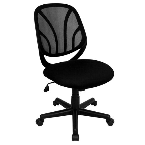 Our Y-GO Office Chair™ Mid-Back Black Mesh Swivel Task Office Chair is on sale now.