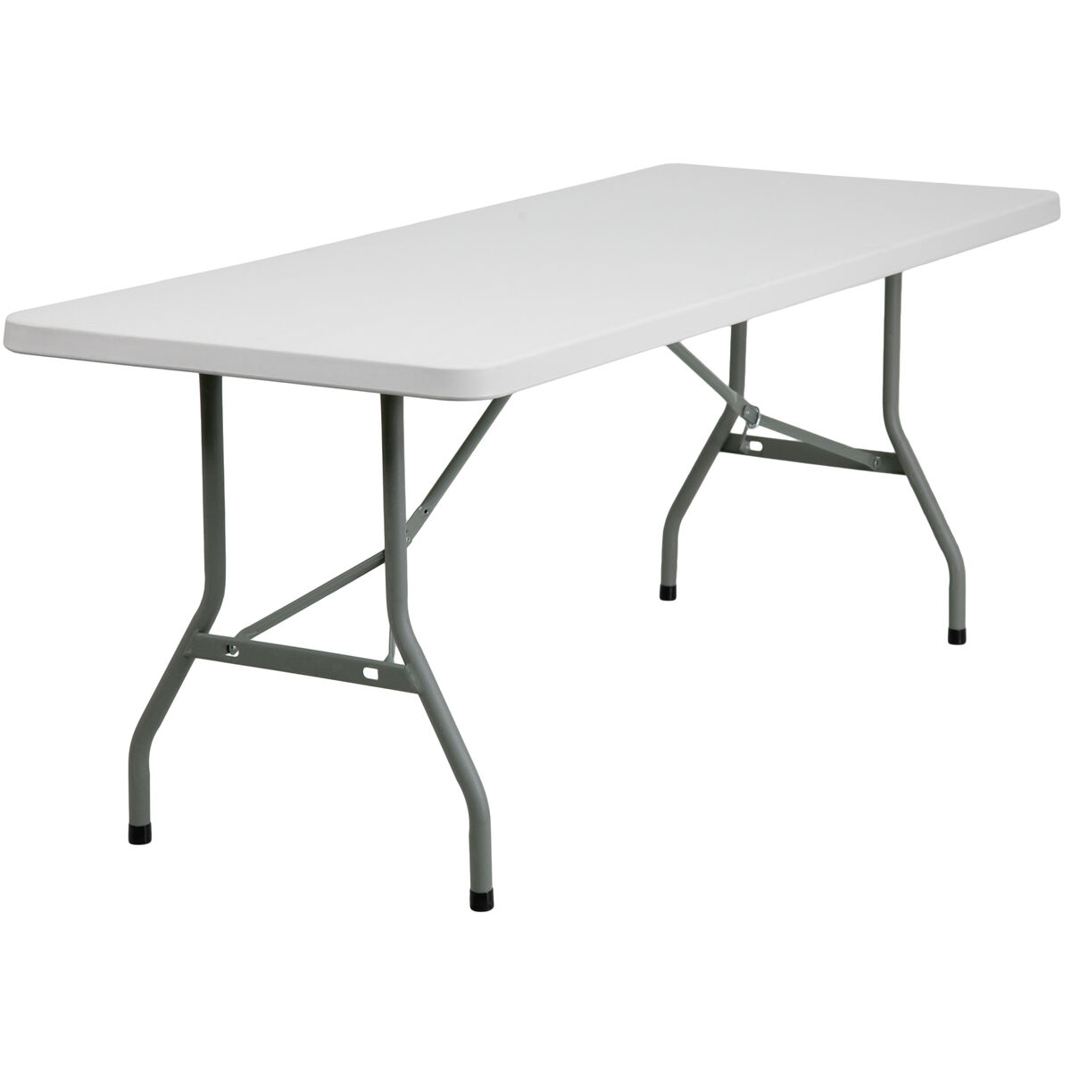 30x72 White Plastic Fold Table Rb 3072 Gg