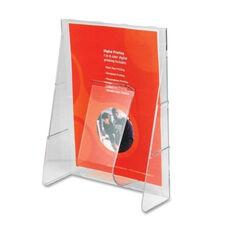 Deflecto Literature Rack - Magz Size - 1 Pkt - 9 1/8