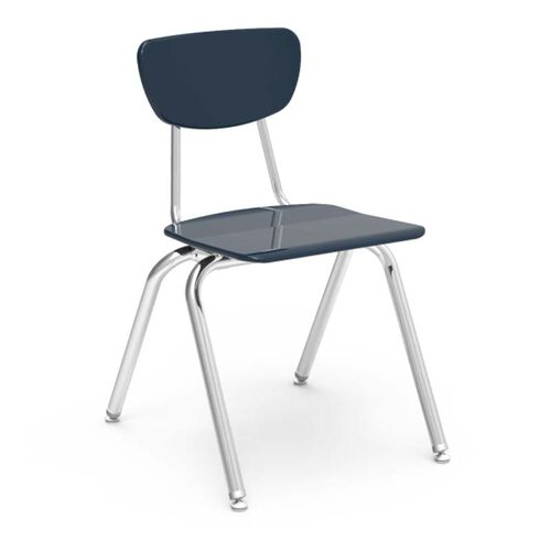 Quick Ship 3000 Series Hard Plastic Stack Chair with 18