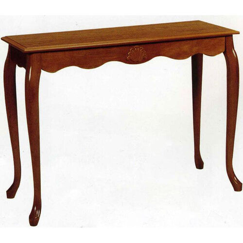 2740 Sofa Table with Shell Table