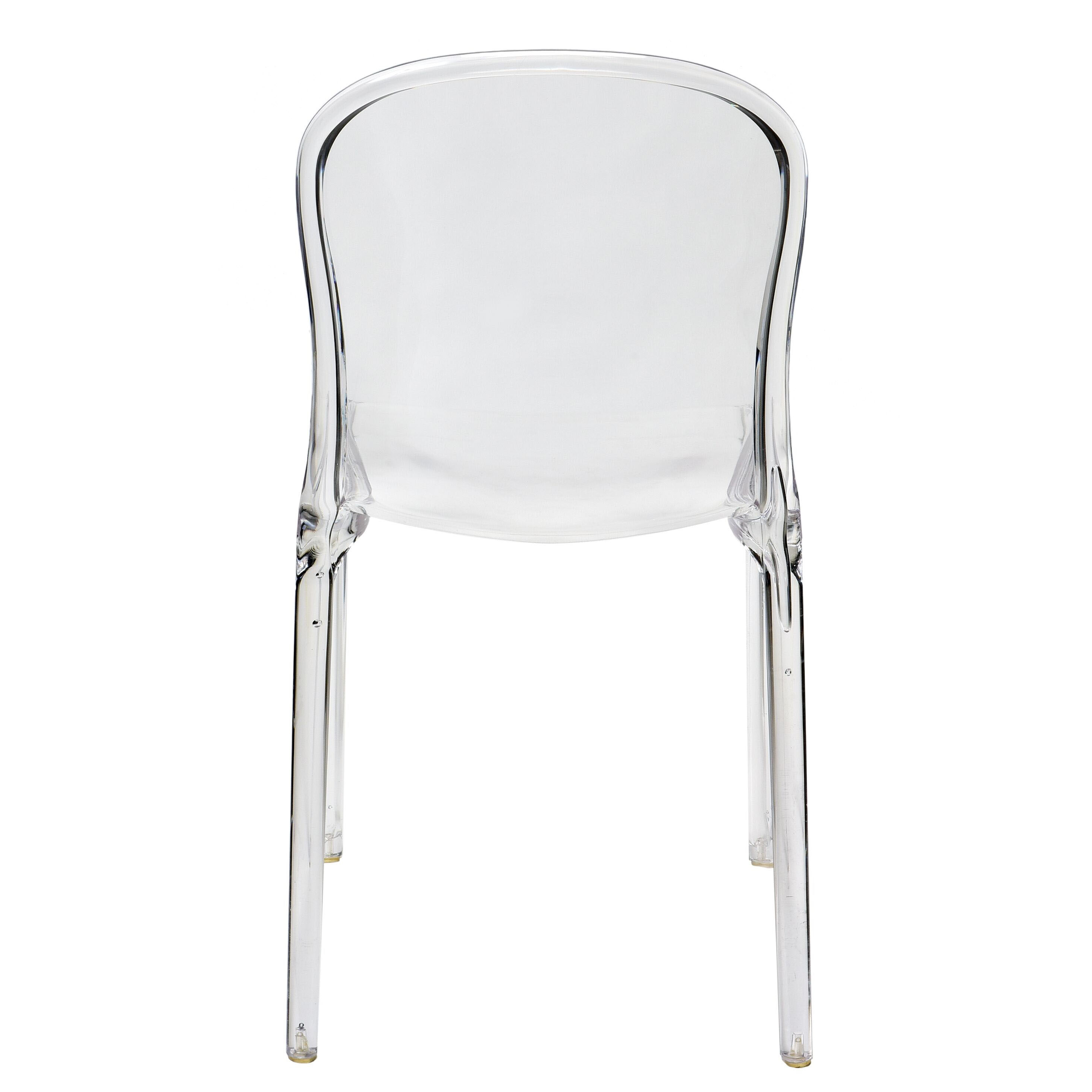 Superbe Our Genoa Polycarbonate Dining Chair   Clear Is On Sale Now.