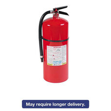 Kidde ProLine Pro 20 MP Fire Extinguisher - 6-A:80-B:C - 195psi - 21.6h x 7 dia - 18lb