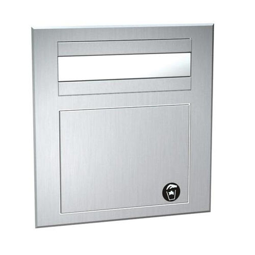 Traditional Counter Top Mounted Paper Towel Dispenser and Waste Receptacle