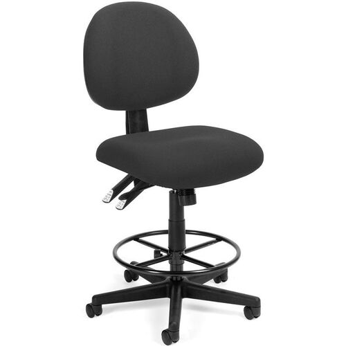 Our 24 Hour Task Chair with Drafting Kit - Charcoal is on sale now.