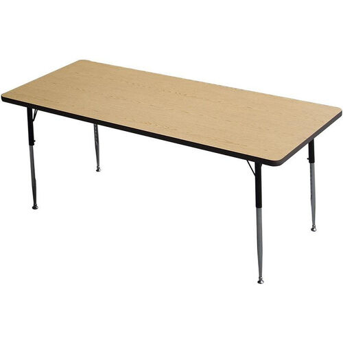 Our Rectangle Shaped Particleboard Activity Table - 30