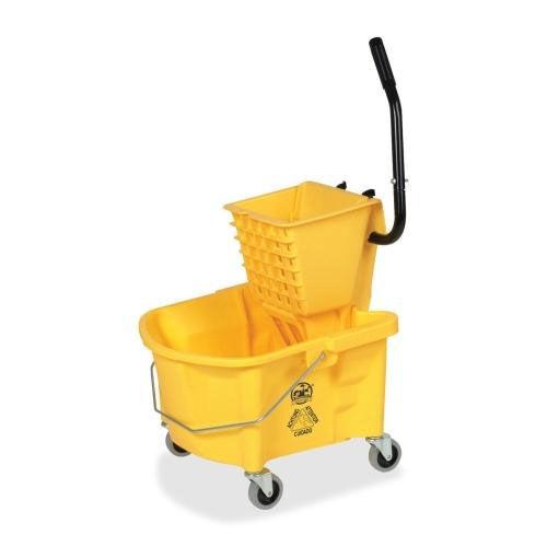 Our Genuine Joe Mop Bucket Wringer Combo - 3