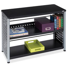 Safco Scoot Contemporary Design 2 Shelf Bookcase - Black