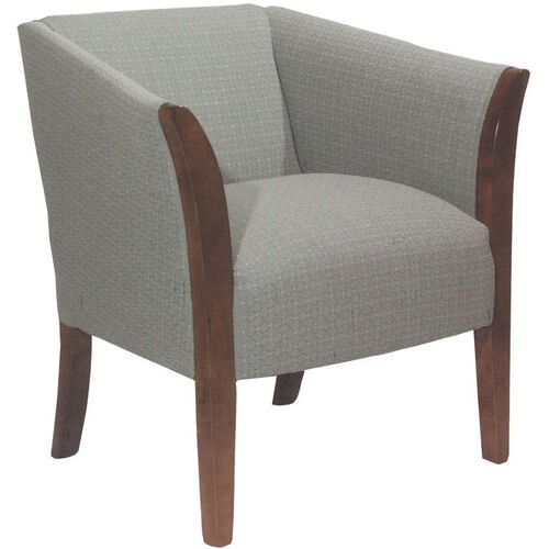 Our 5803 Upholstered Lounge Chair w/ Wood Trim Arms - Grade 1 is on sale now.