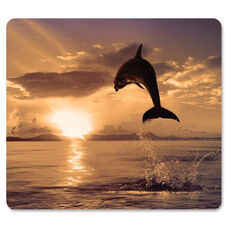 Fellowes Dolphin Image Recycled Optical Mouse Pad