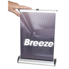 Breeze Retractable Tabletop Banner Stand